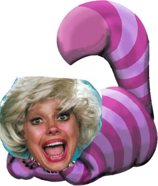 20120415 Carol Channing Cheshire Cat