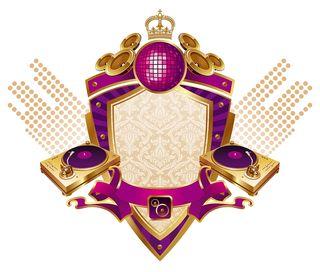 Bigstock-Musical-heraldic-shield-with-t-15589919