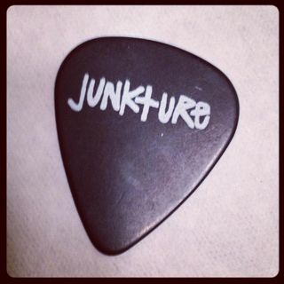 Junkture guitar pick