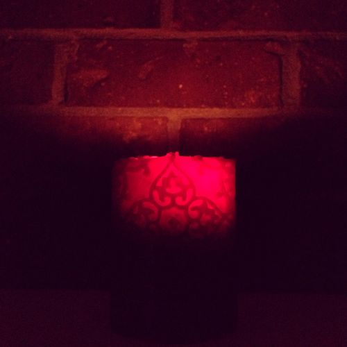 201302 red candle