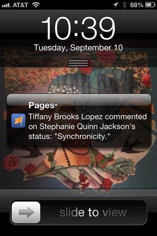 20130910 synchronicity