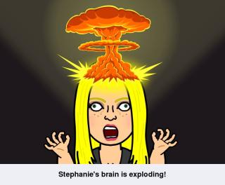 SQJ brain exploding volcano