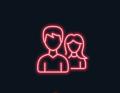 Neon couple